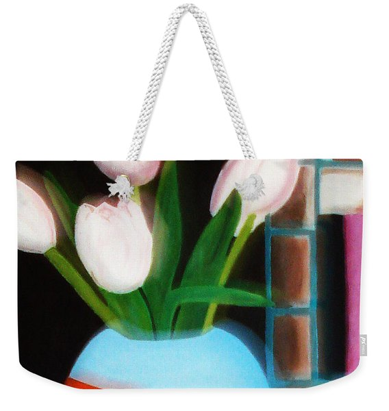 Flower Decor Weekender Tote Bag