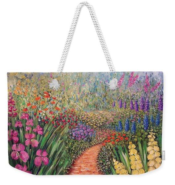 Flower Gar02den  Weekender Tote Bag