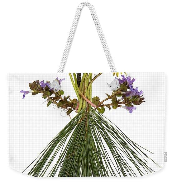 Flower Head Weekender Tote Bag