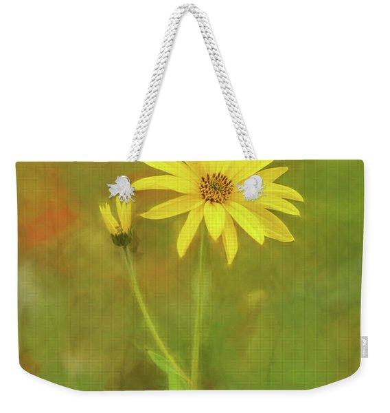 Flower Impression Weekender Tote Bag