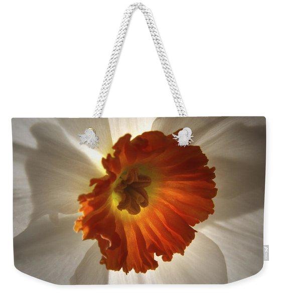 Flower Narcissus Weekender Tote Bag