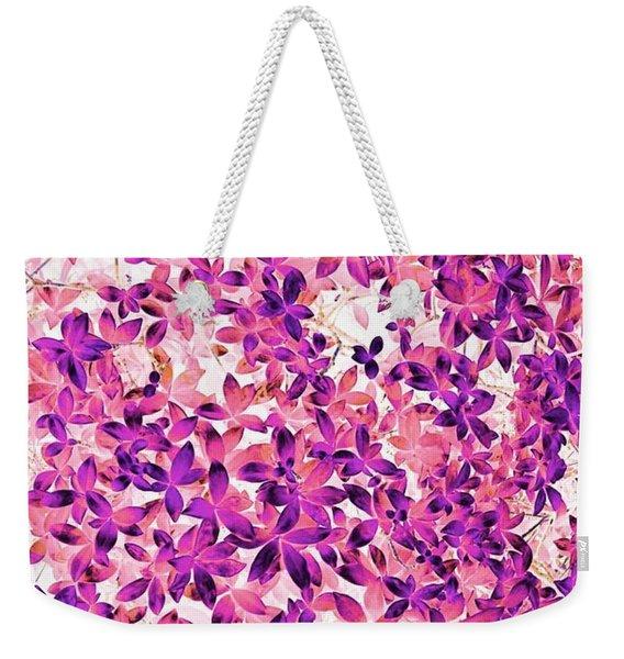 Flower Passion  Weekender Tote Bag