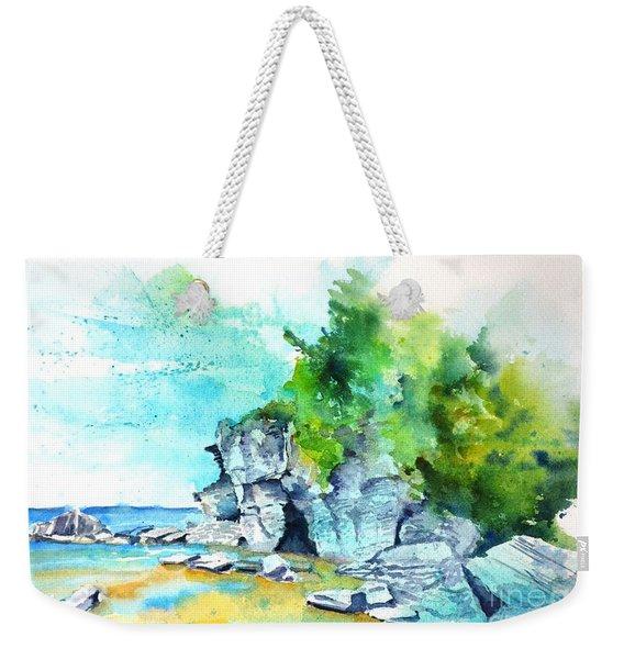 Flower Pot Island Weekender Tote Bag