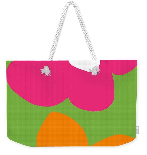 Flower Power 1- Art By Linda Woods Weekender Tote Bag