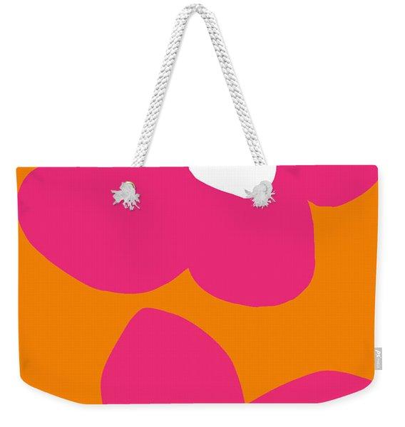 Flower Power 2- Art By Linda Woods Weekender Tote Bag