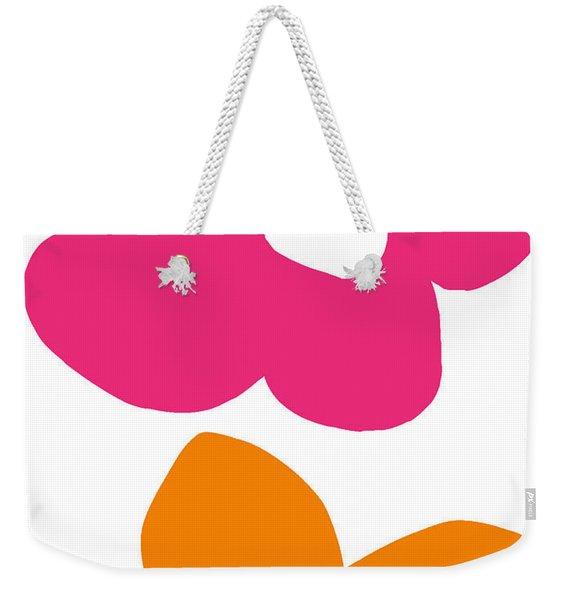 Flower Power 4- Art By Linda Woods Weekender Tote Bag