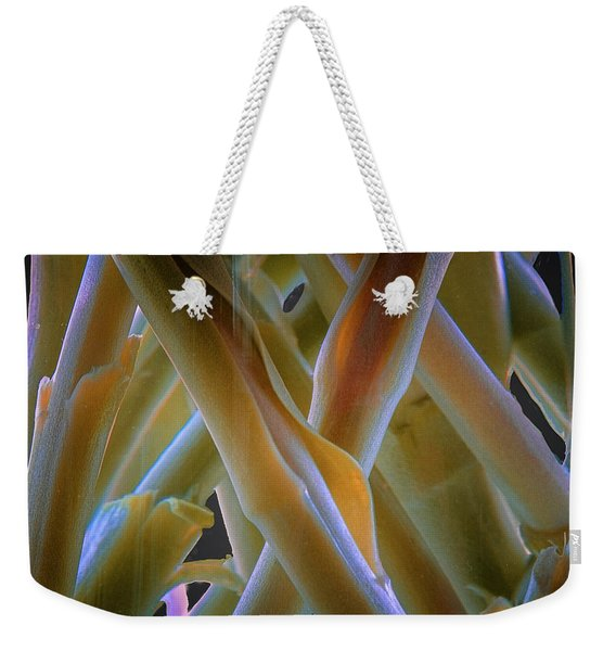 Flower Stems Weekender Tote Bag