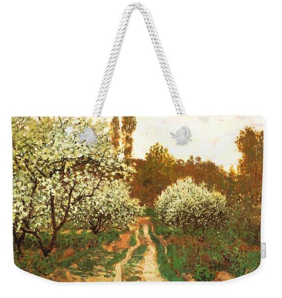 Flowering Apple Trees Weekender Tote Bag
