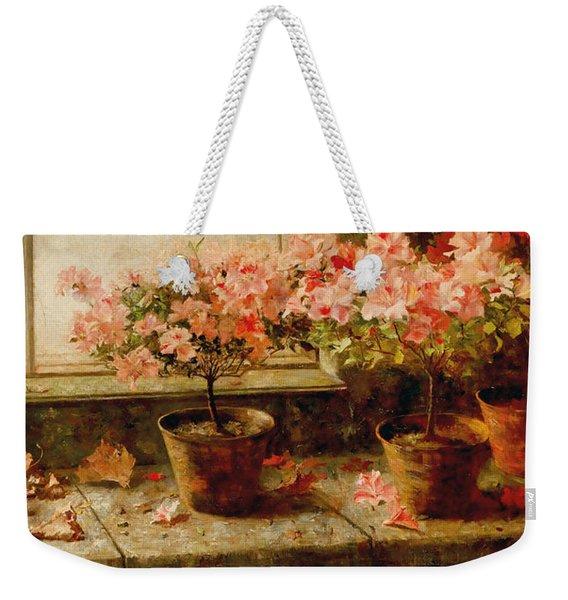 Flowering Azaleas Weekender Tote Bag