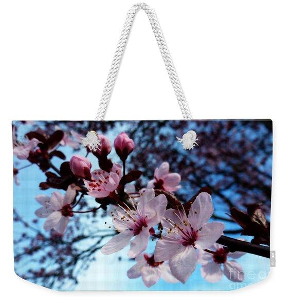 Flowering Of The Plum Tree 6 Weekender Tote Bag