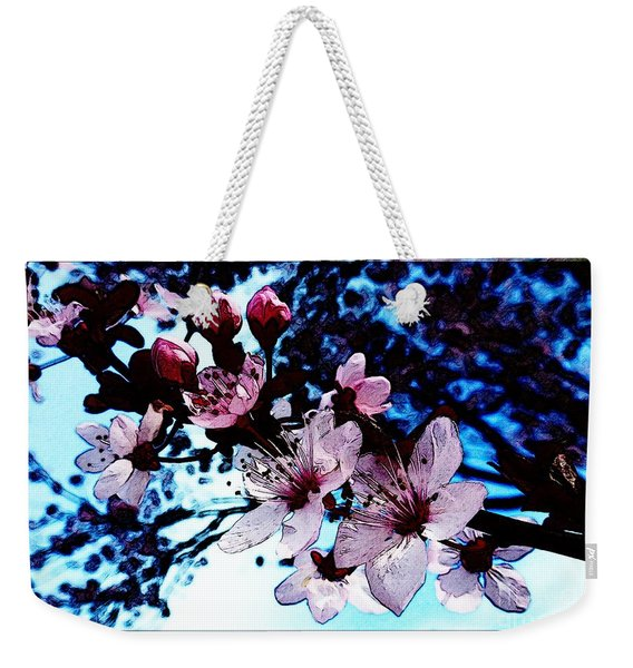 Flowering Of The Plum Tree 7 Weekender Tote Bag