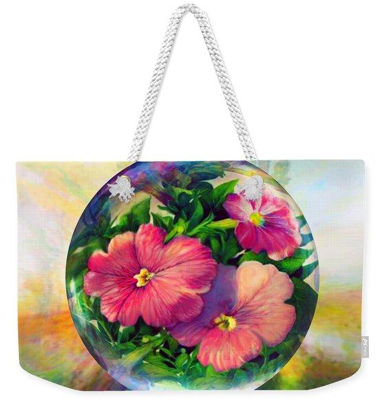 Flowering Panopticon Weekender Tote Bag
