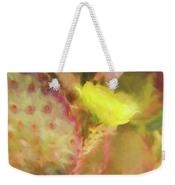 Flowering Pear Weekender Tote Bag