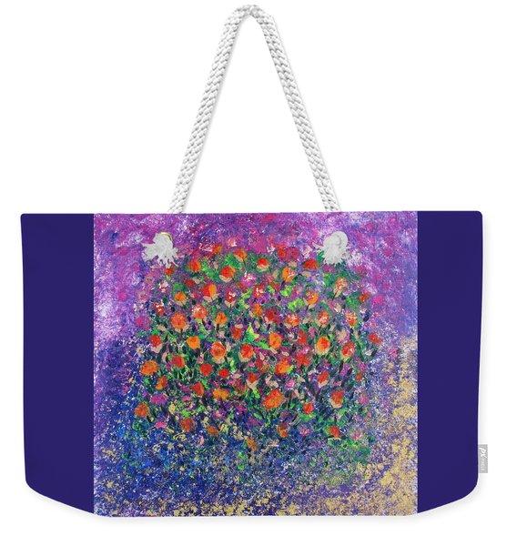 Flowers All Over Weekender Tote Bag