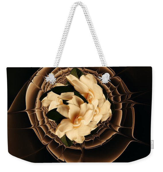 Flowers And Chocolate Weekender Tote Bag