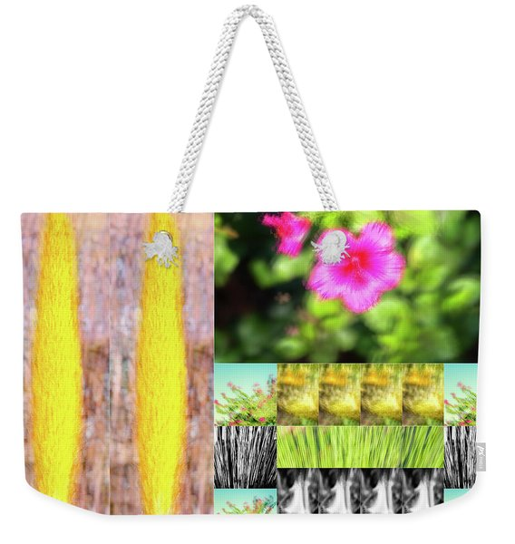 Flowers And Plants Impressionistic Weekender Tote Bag