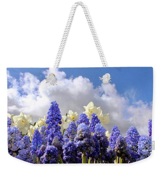 Flowers And Sky Weekender Tote Bag