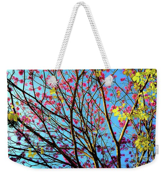 Flowers And Trees Weekender Tote Bag