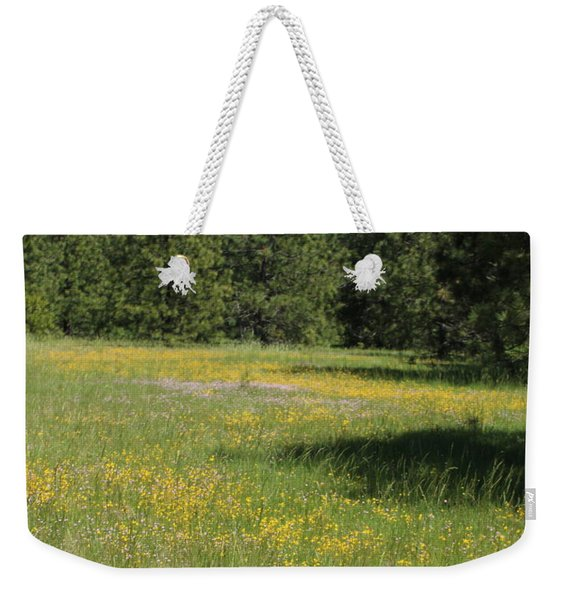 Flowers At Fish Hatchery Weekender Tote Bag