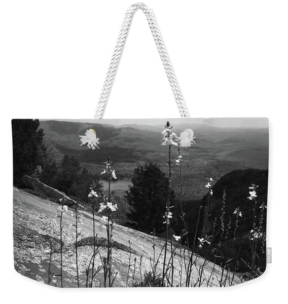 Flowers At The Top Of Table Rock Trail Weekender Tote Bag