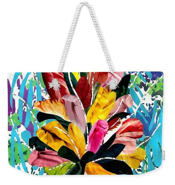 Flowers For My Mother Weekender Tote Bag
