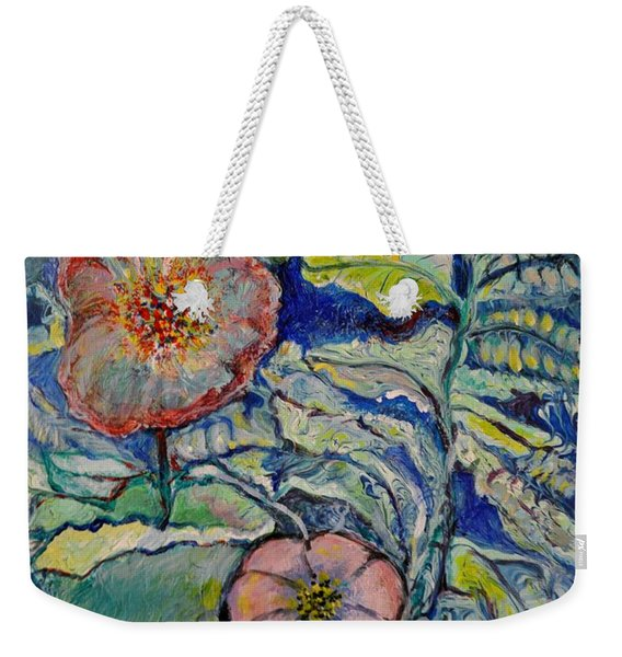 Flowers Gone Wild Weekender Tote Bag