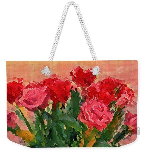 Flowers In A  Vase Weekender Tote Bag
