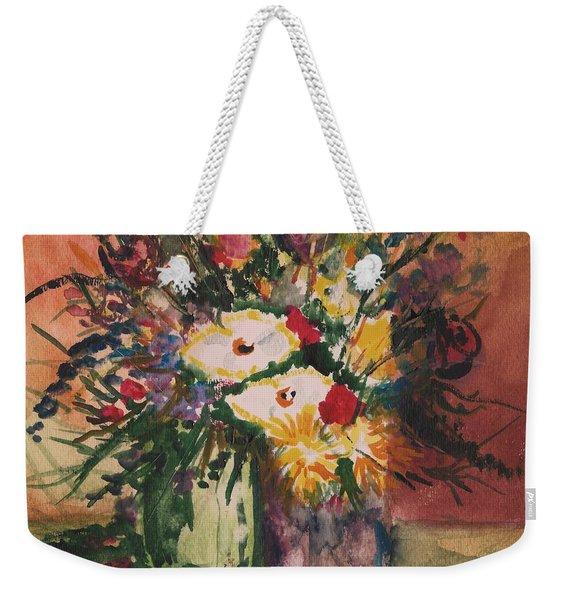 Flowers In Vases Weekender Tote Bag