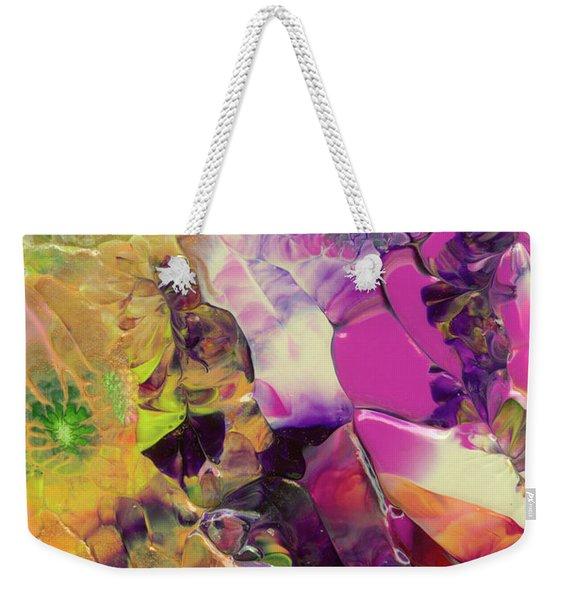 Flowers Of The Cosmic Sea Weekender Tote Bag