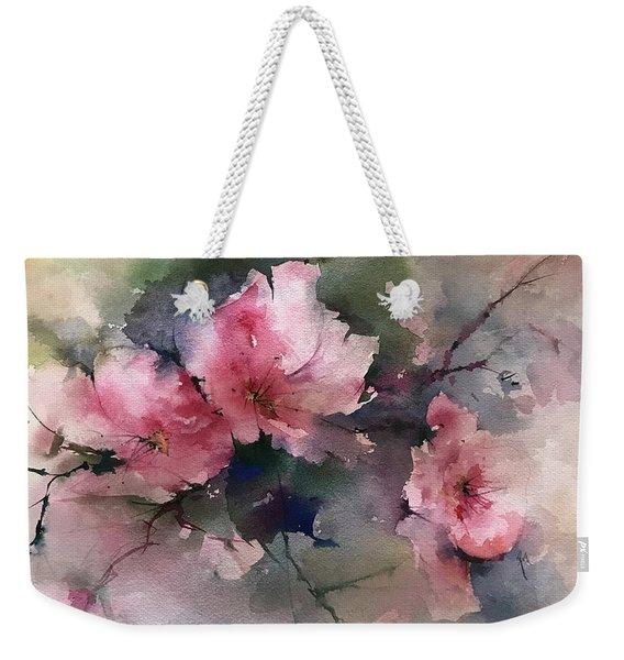 Flowers For Margaret Weekender Tote Bag