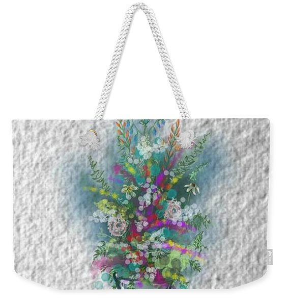 Flowers Study Two Weekender Tote Bag