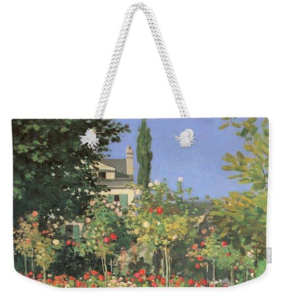 Flowing Garden Weekender Tote Bag