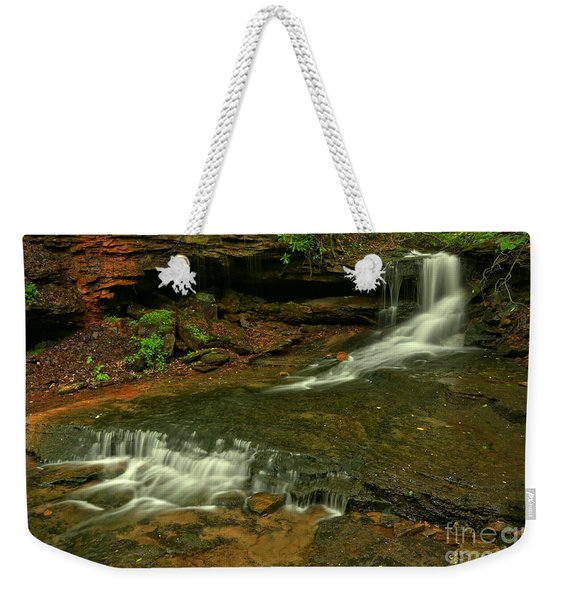 Flowing Through The Forbes State Forest Weekender Tote Bag