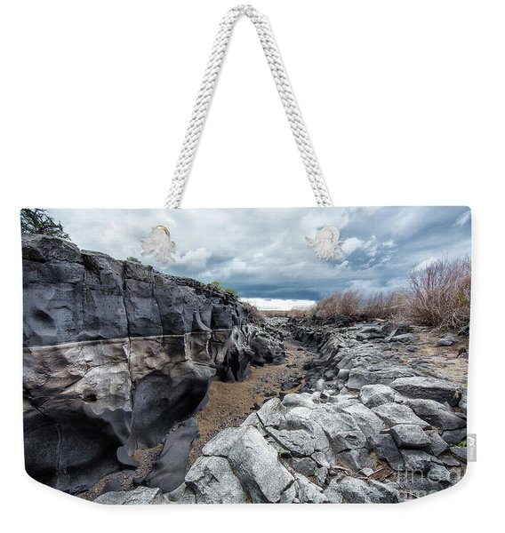 Flowing To The Storm Idaho Journey Landscape Art By Kaylyn Franks Weekender Tote Bag