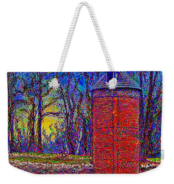 Floyd,virginia Tower Weekender Tote Bag