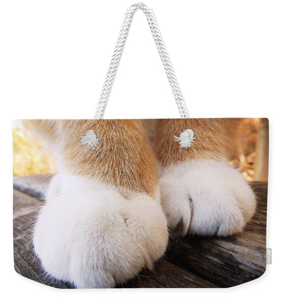 Fluffy Paws Weekender Tote Bag