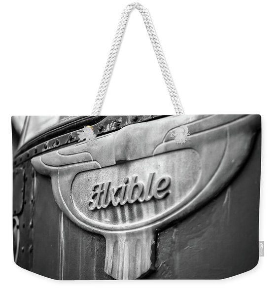Flxible Clipper 1948 Bw Weekender Tote Bag