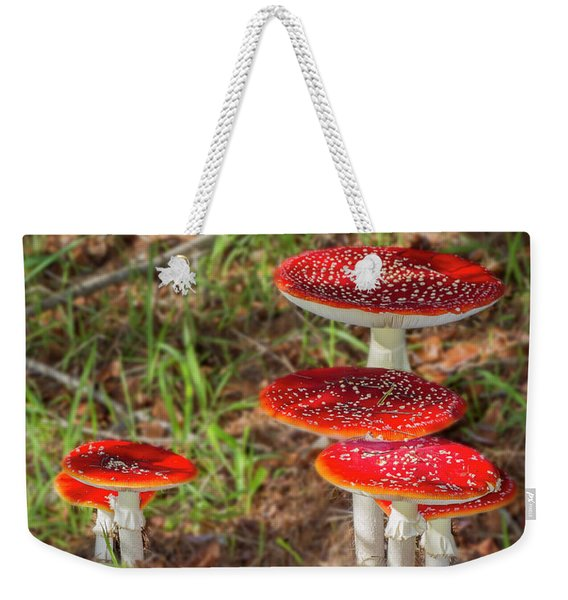 Fly Agaric Amanita Muscaria Weekender Tote Bag