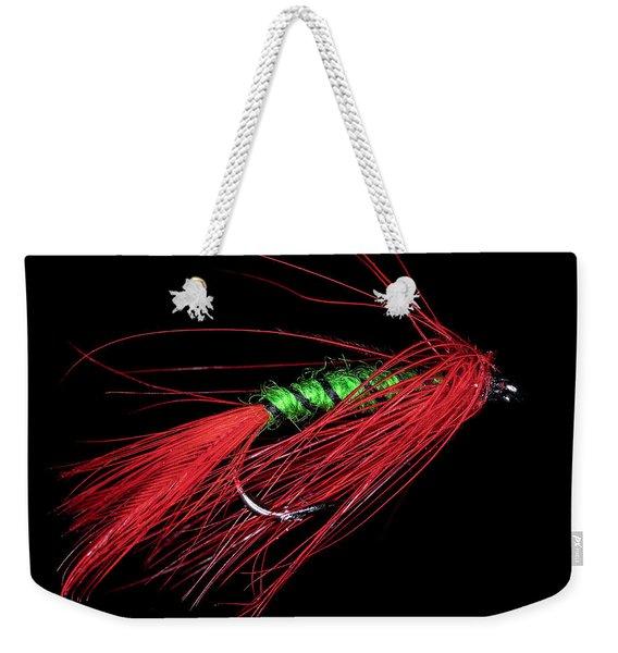 Fly-fishing 5 Weekender Tote Bag