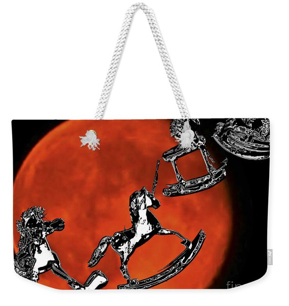 Fly Me To The Moon Wall Art Weekender Tote Bag