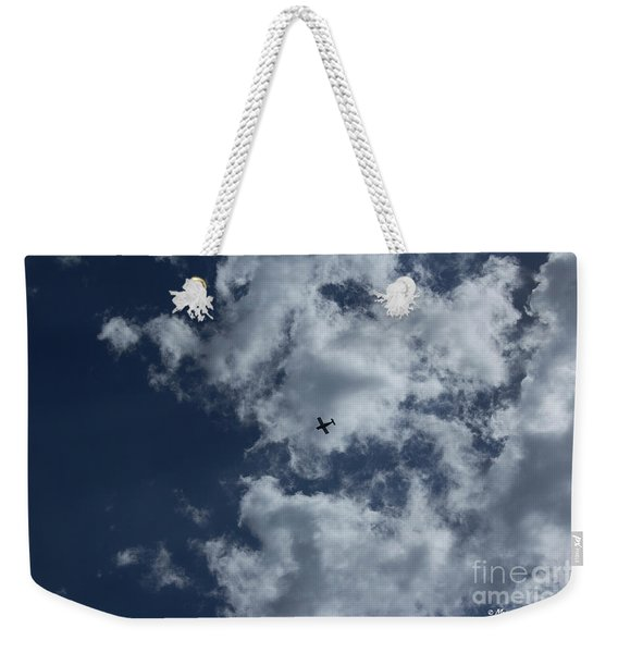 Fly Me To The Moon Weekender Tote Bag