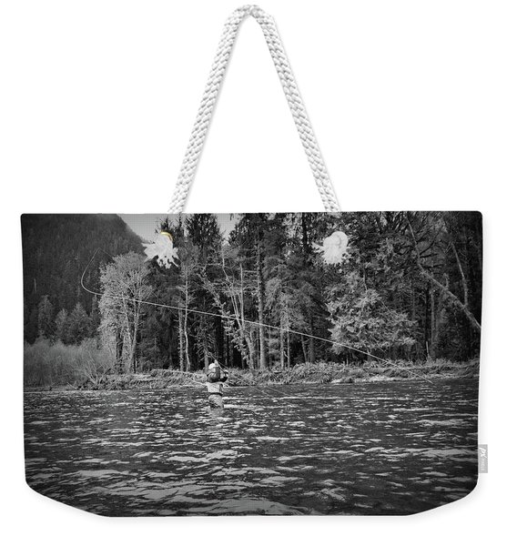 Fly On The Swing Weekender Tote Bag