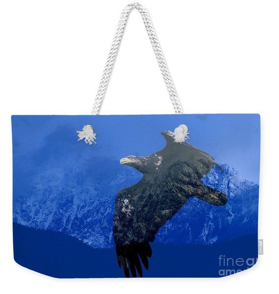 Fly Wild Fly Free Weekender Tote Bag