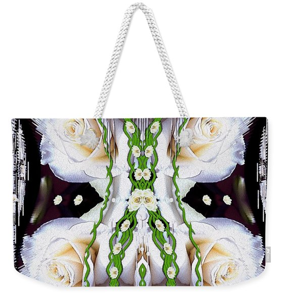 Fly With Roses And Wings Into Freedom Weekender Tote Bag