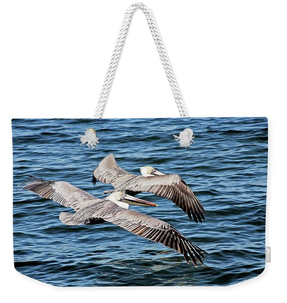 Flying Buddies Weekender Tote Bag