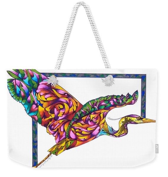 Flying Colors Weekender Tote Bag