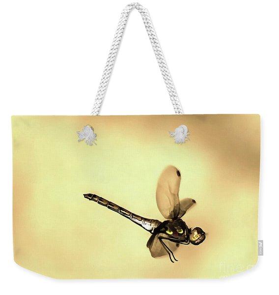 Flying Dragonfly Weekender Tote Bag