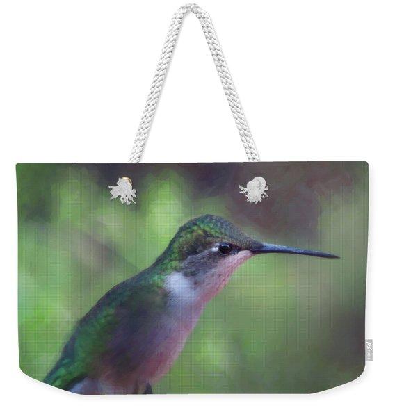 Flying Flower Weekender Tote Bag