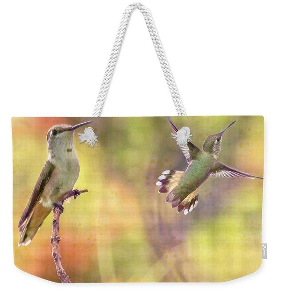 Flying Gems Weekender Tote Bag