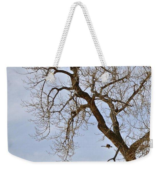 Flying Goose By Great Tree Weekender Tote Bag